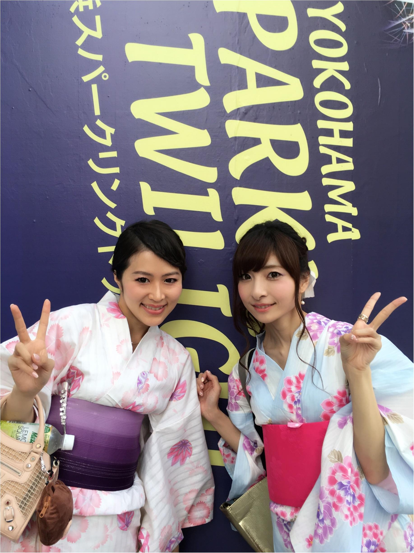 ♡今年の浴衣は【水色ベース×帯2枚使い】人と被らないアレンジ♡モアハピ◡̈のぞみ♡_4
