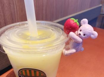 【夏のタリーズ】《瀬戸内レモン×ナタデココ×ふちベアフル》がおすすめ♡