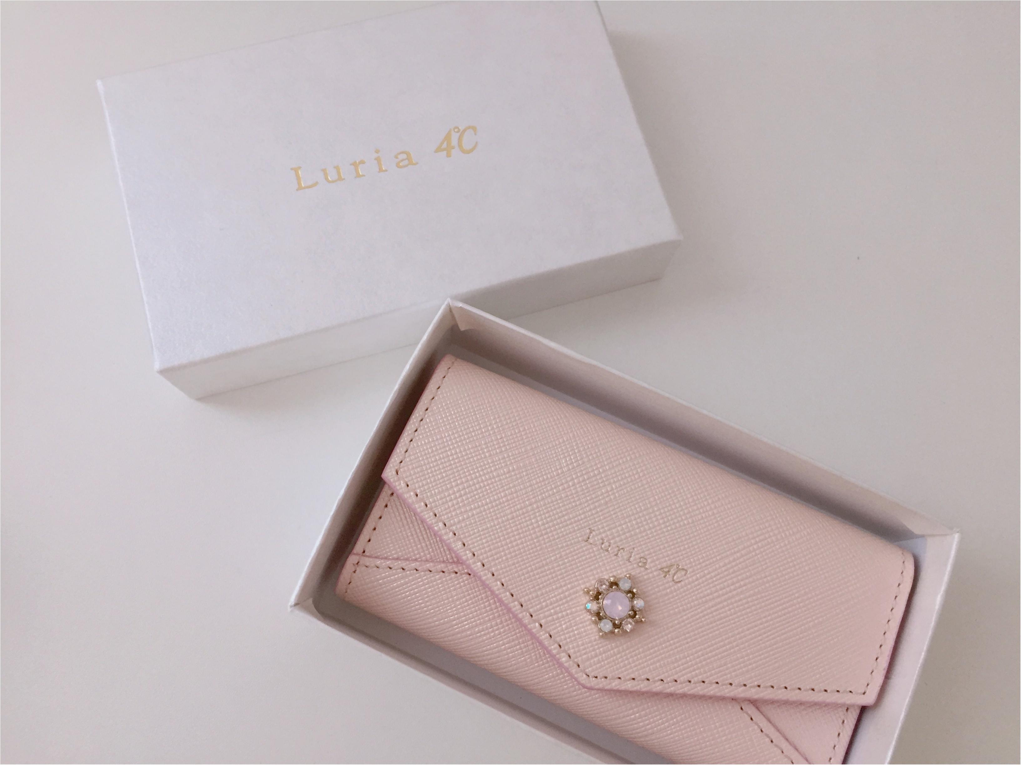 新しいキーケースは『Luria 4℃』で!決め手はコレ!!_1