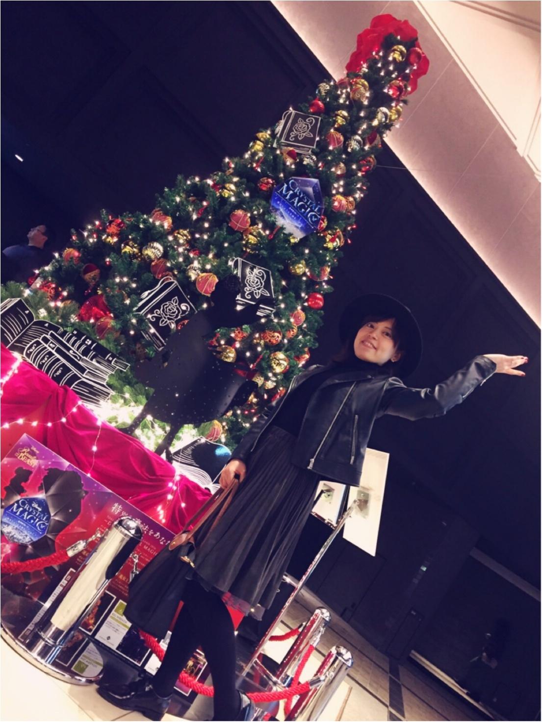 【美女と野獣】の世界に出会える❤︎TOKYU PLAZA GINZAでひと足お先にクリスマス気分☺︎_2