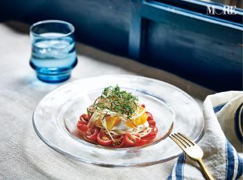 名店シェフが教える料理初心者へのおすすめレシピ♡ 夏こそ食べたい冷製カッペリーニ【『sio』の鳥羽シェフレシピ】