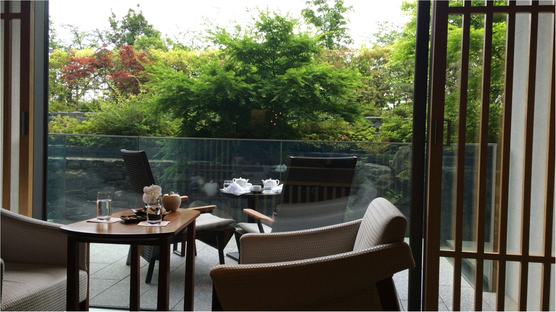 週末のお出かけに♡『リッツカールトン京都』のはんなり【アフタヌーンティーセット】♡_3