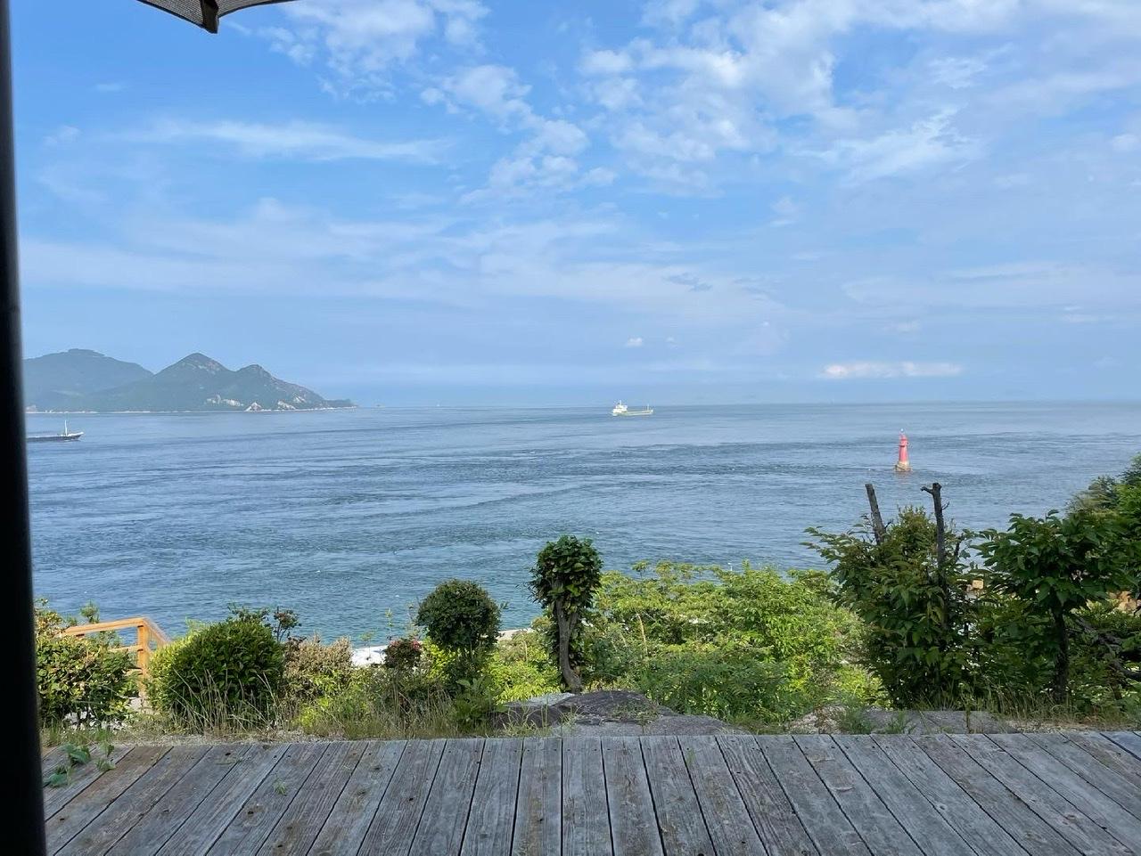 ここは天国…?瀬戸内海を一望できる『海のみえるカフェ』@愛媛_2