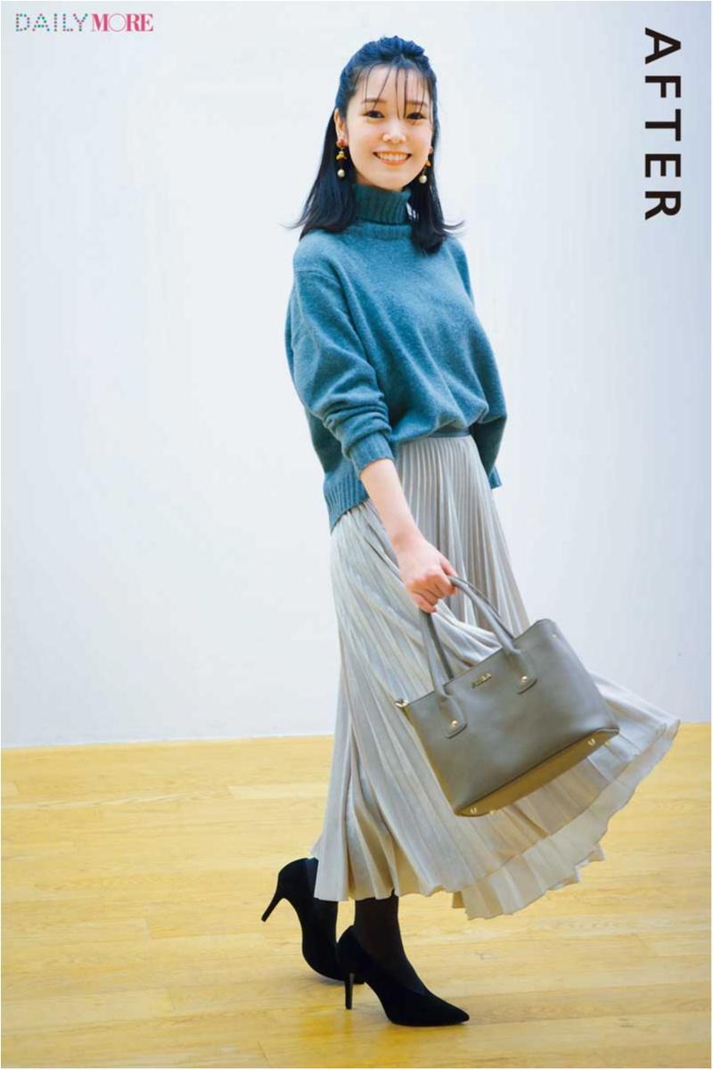 人気スタイリスト高野麻子さんがプロの技で改造! 「太って見えそうな服」BEFORE→AFTER_1_5