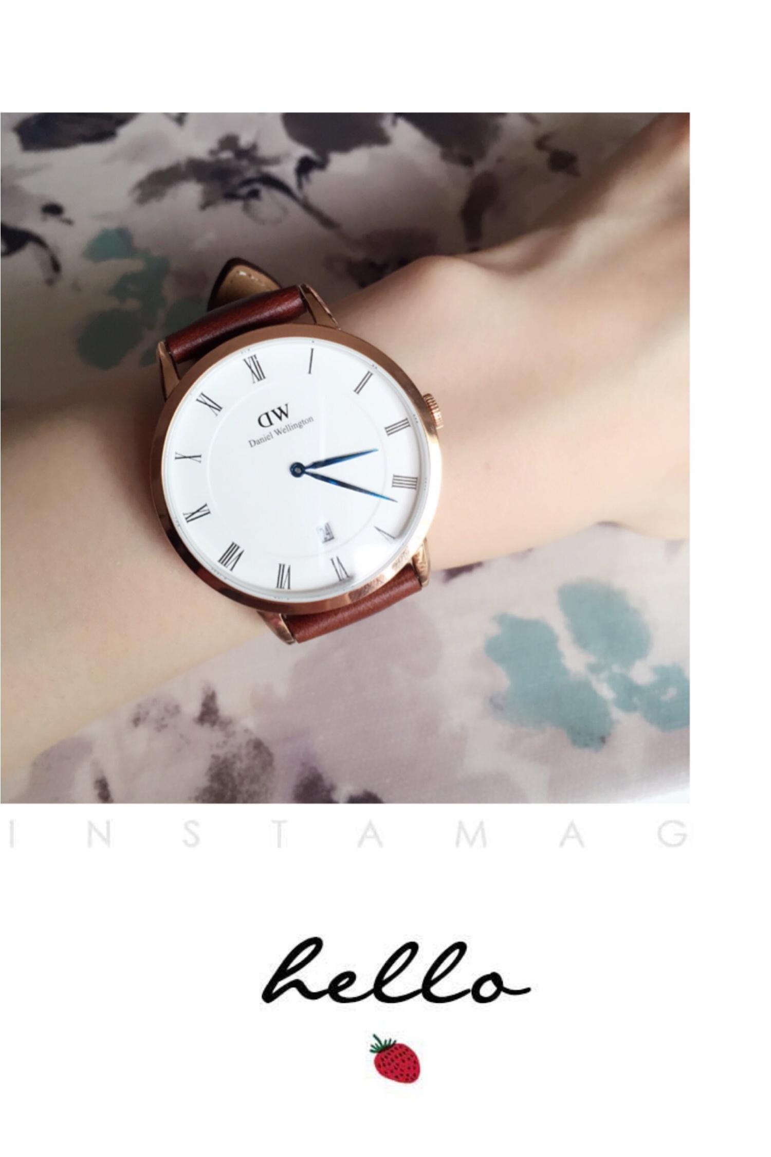 ♡ついにget 大流行中のダニエルウェリントンの腕時計♡_1