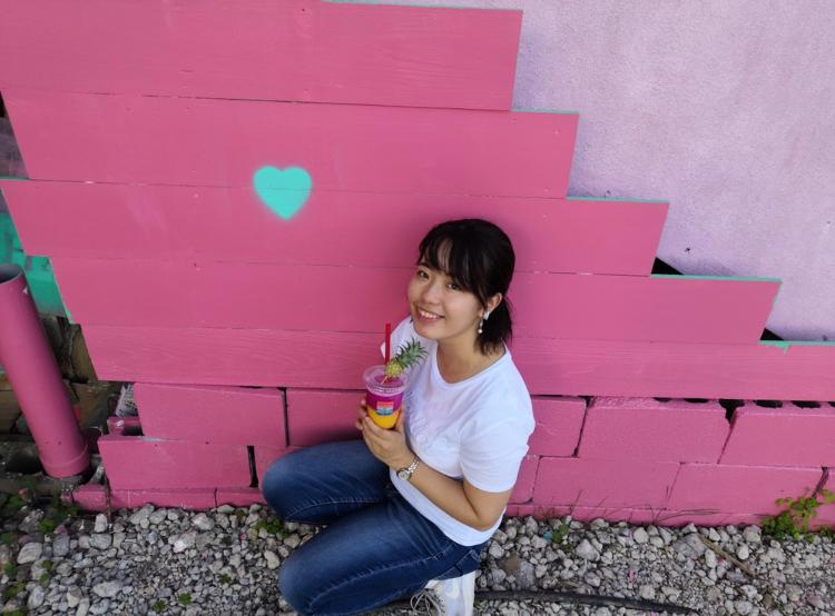 【女子旅におすすめ】LOVEがあふれたスムージー屋さんを発見♡♡インスタ映え間違いなしの《カラフルスムージー》@MAGENTA n blue 恩納村_10