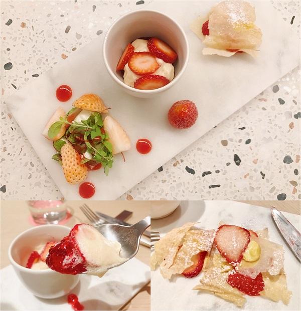 【銀座で#いちご】『フルーツサロン』の限定「贅沢いちごのフルコース」を一足お先に食べてきた♬ _5