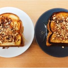 韓国で話題!インジョルミトーストをクッキング