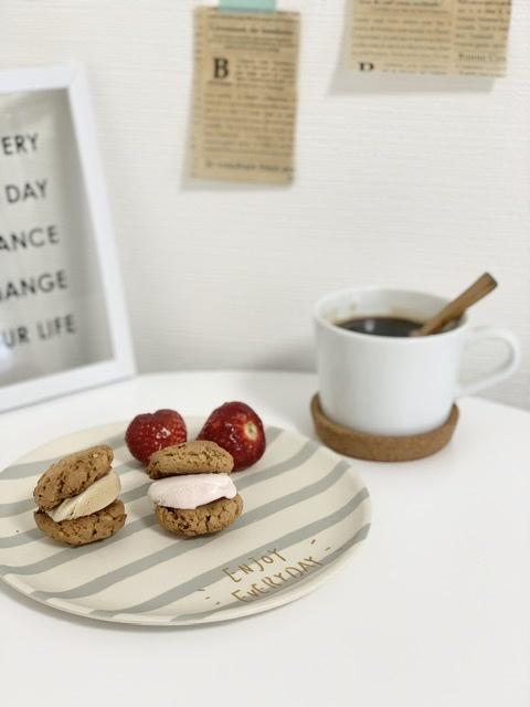 【おうちカフェまとめ】オレオチーズケーキ◆蜂蜜レモントースト◆クッキーサンドアイスetc._3