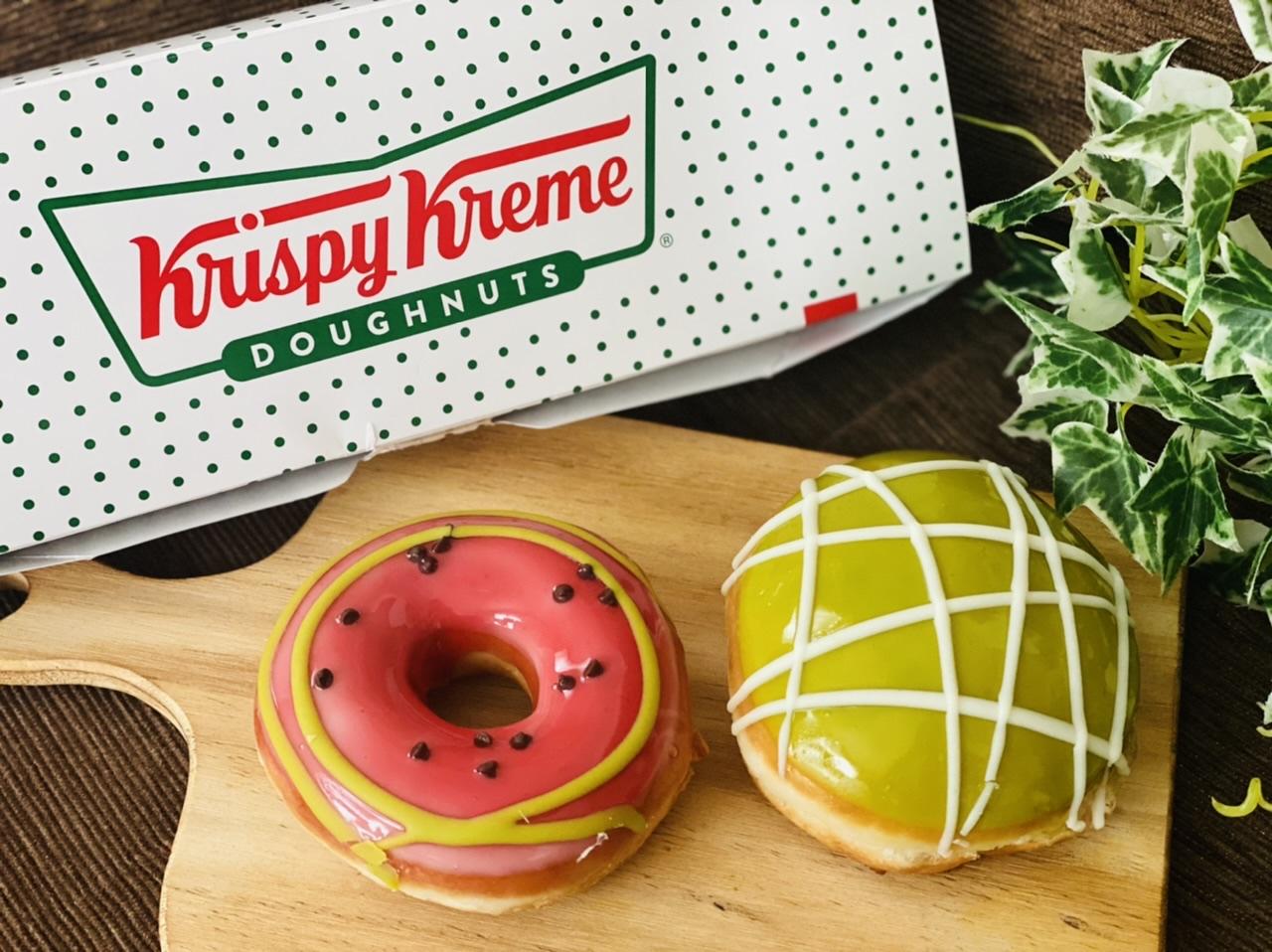 【クリスピー・クリーム・ドーナツ】まるでスイカとメロン♡初夏限定ドーナツが可愛すぎる!_1