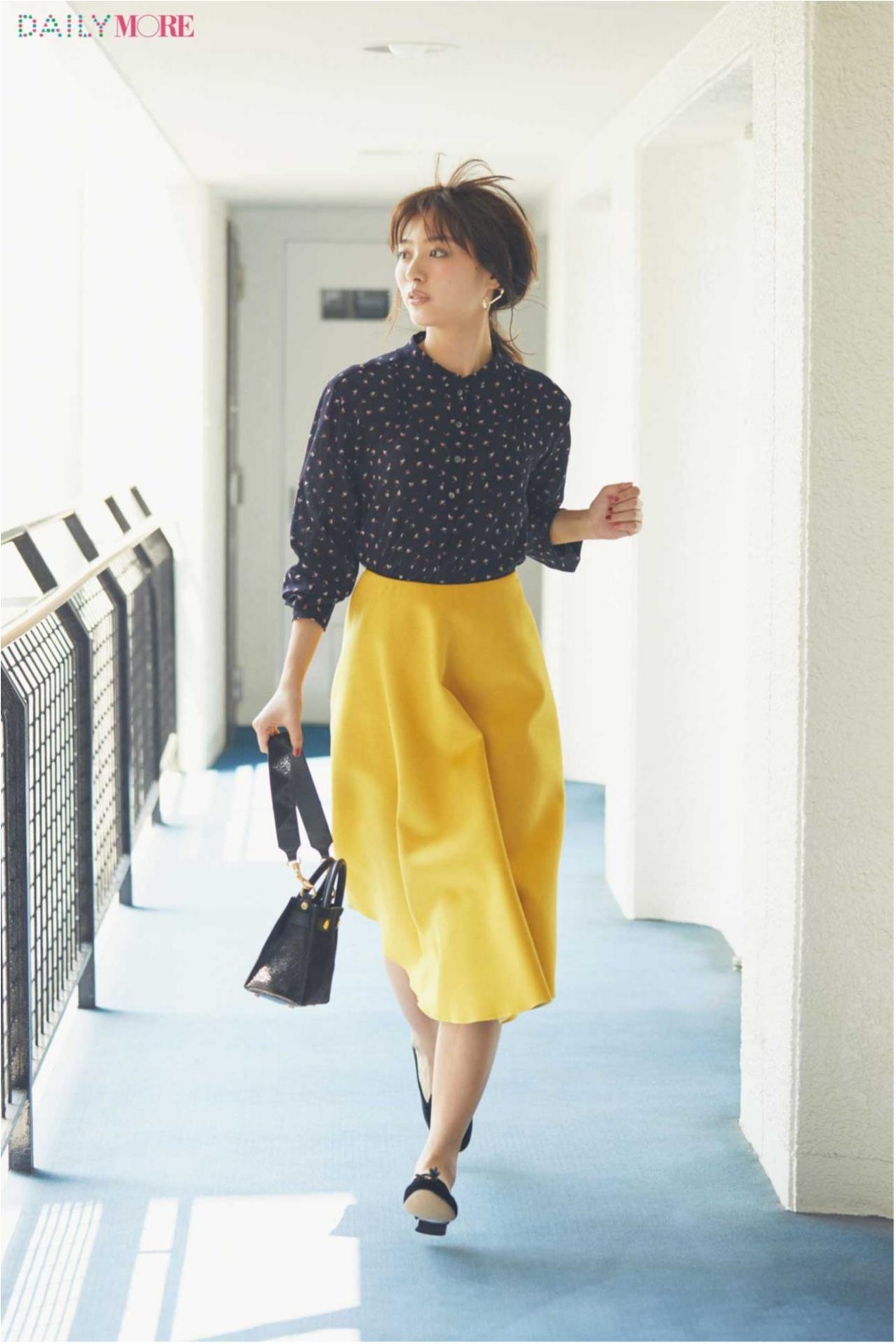 秋コーデを軽やか&華やかに♪ 「フレアスカート」の着こなしまとめ♡_1_4