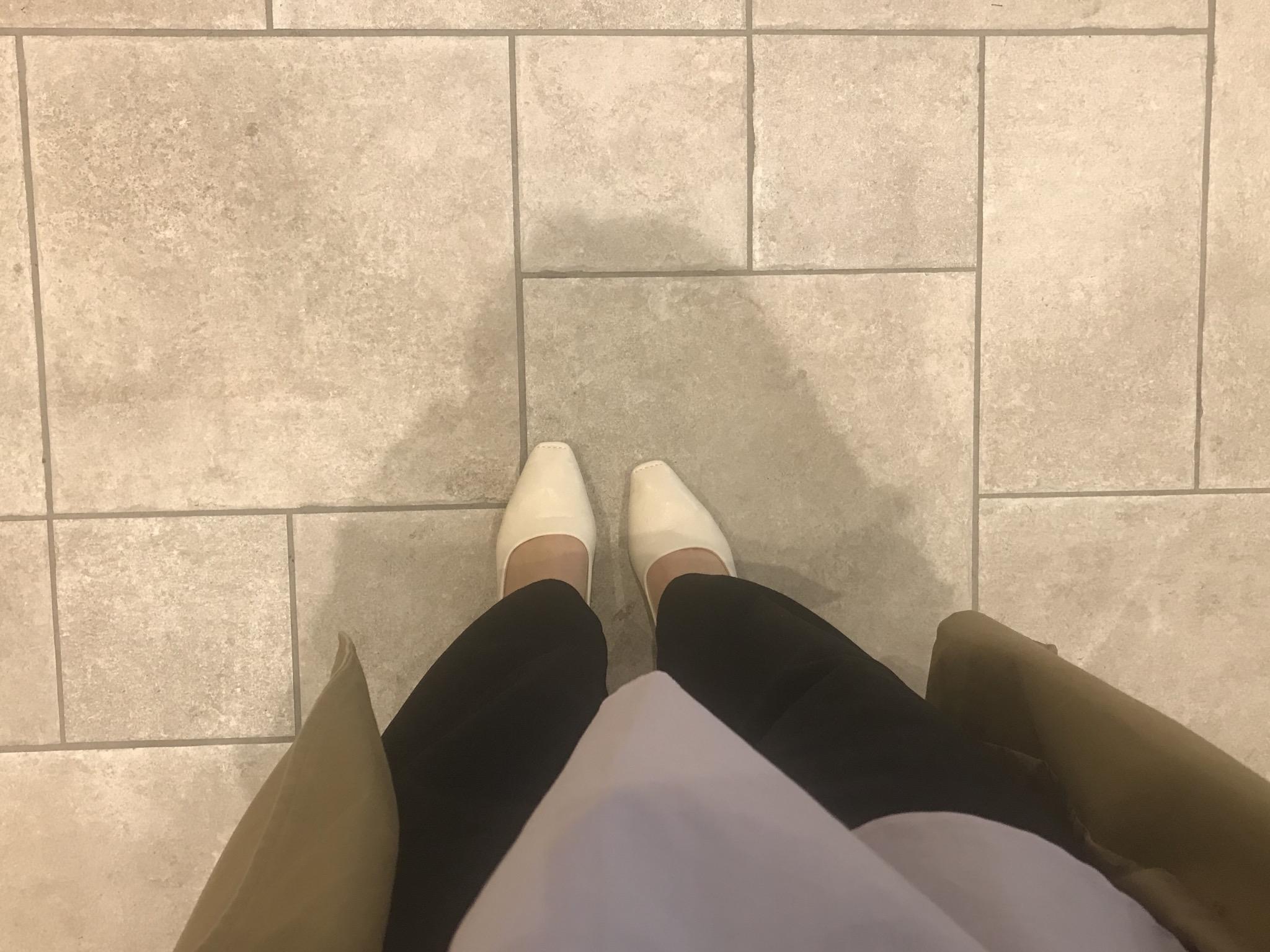 【プチプラ春靴】ホワイトカラーの《スクエアトゥシューズ》❃❃❃_7