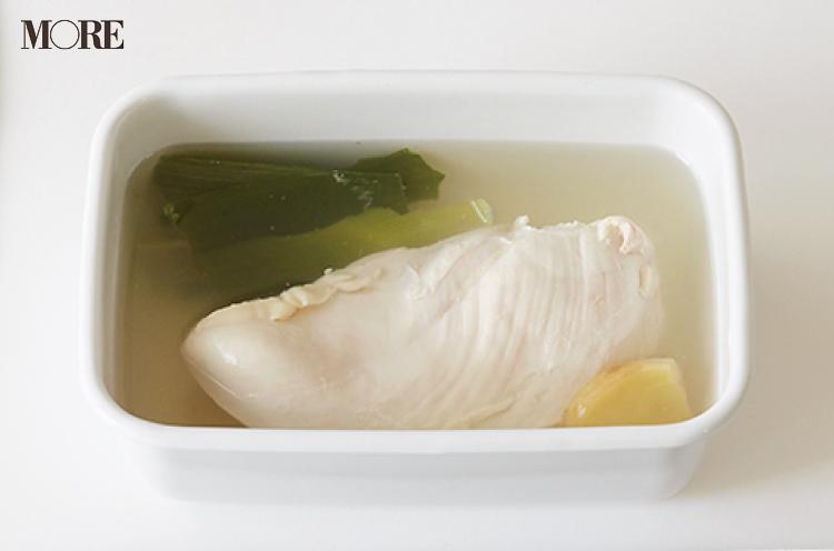 【作りおきお弁当レシピ】ゆで鶏をアレンジして簡単おかず3品! ごまやカレー粉、オイスターソースを使って_2