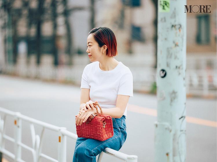 スタイリスト高野麻子さんの私服コーデTシャツ