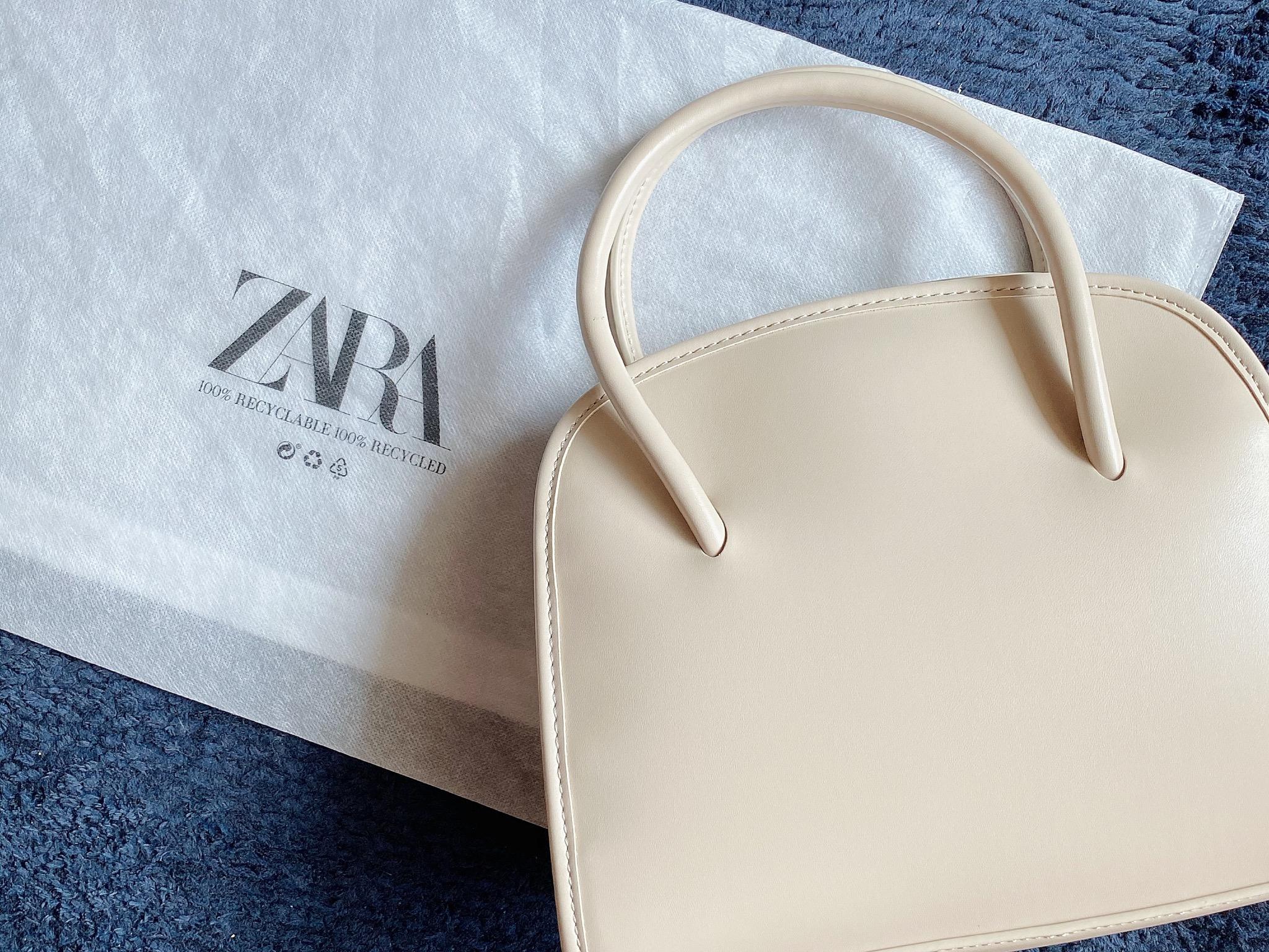 【ZARA】Saleで購入した万能ミニシティバッグでお出かけ_1