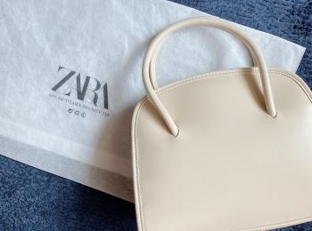 【ZARA】Saleで購入した万能ミニシティバッグでお出かけ