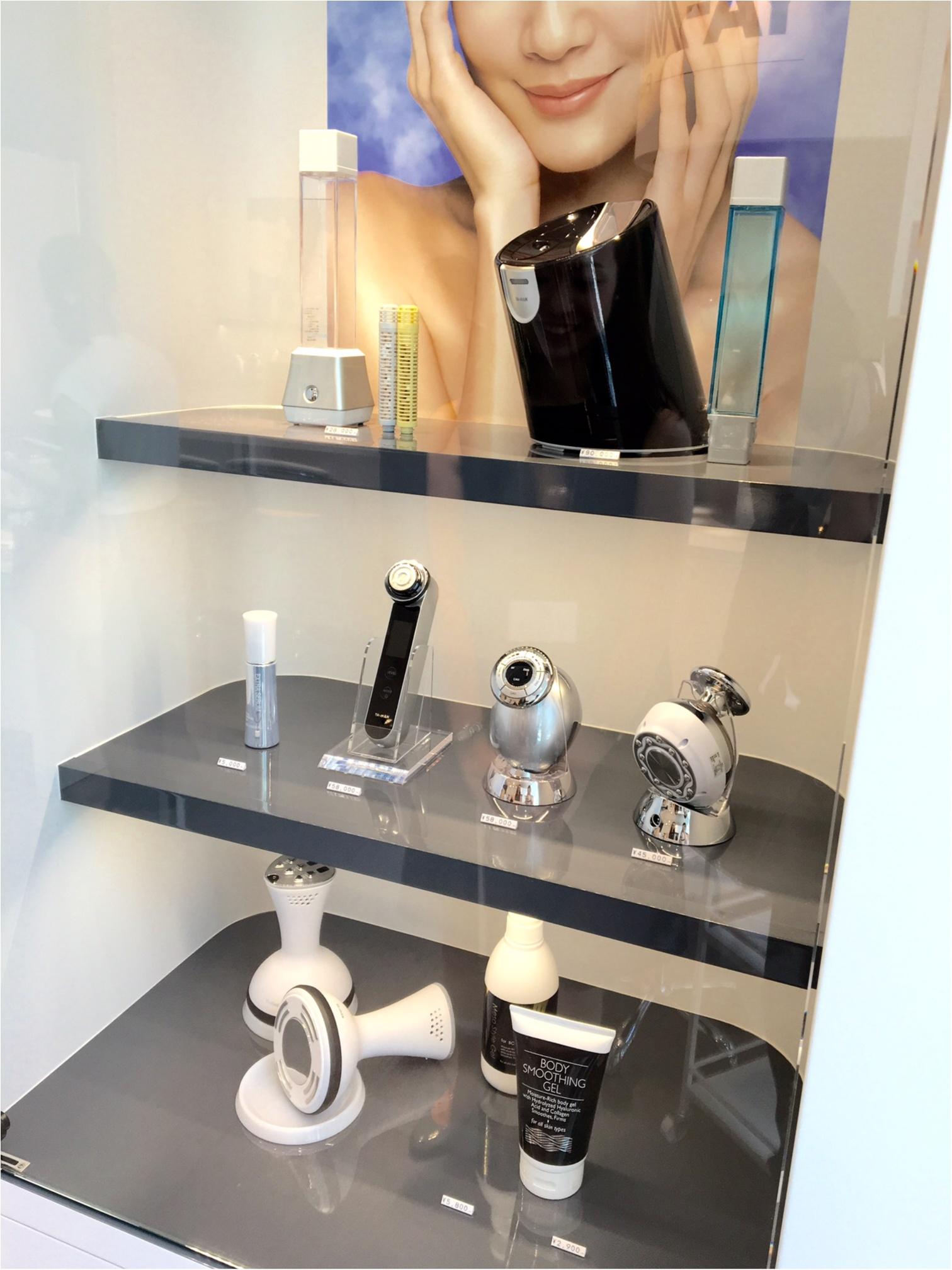 エステ専売の美容家電をお試し♡ 『ヤーマン』の直営店が銀座にオープン!_2
