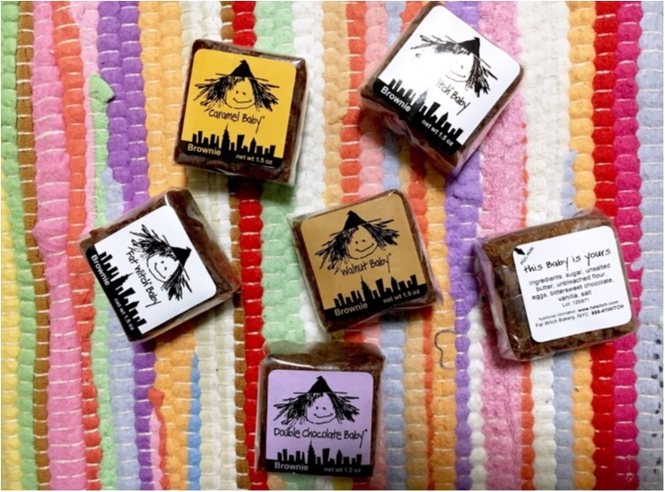 ご当地モア海外編!《もらって嬉しいNY土産》濃厚チョコがおいしい【ファットウィッチベーカリー】のブラウニー❤️_3