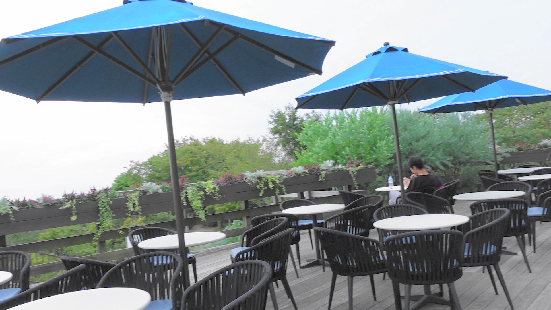 【神戸】神戸布引ハーブ園にいってみたらお洒落なテラスのカフェとハンモックがあってインスタ映えスポットだった_5