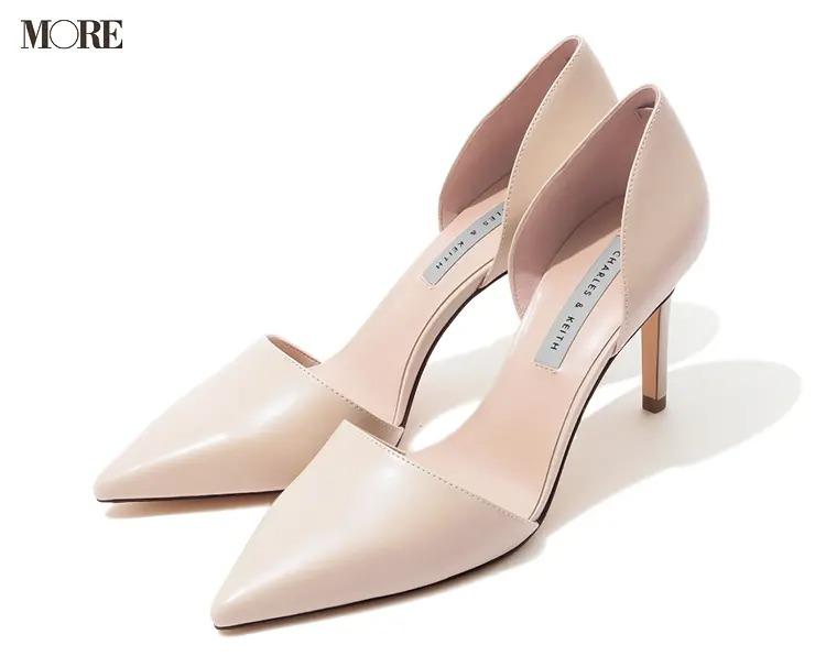 【人気ブランドのおすすめ靴】『チャールズ&キース』セパレートパンプス