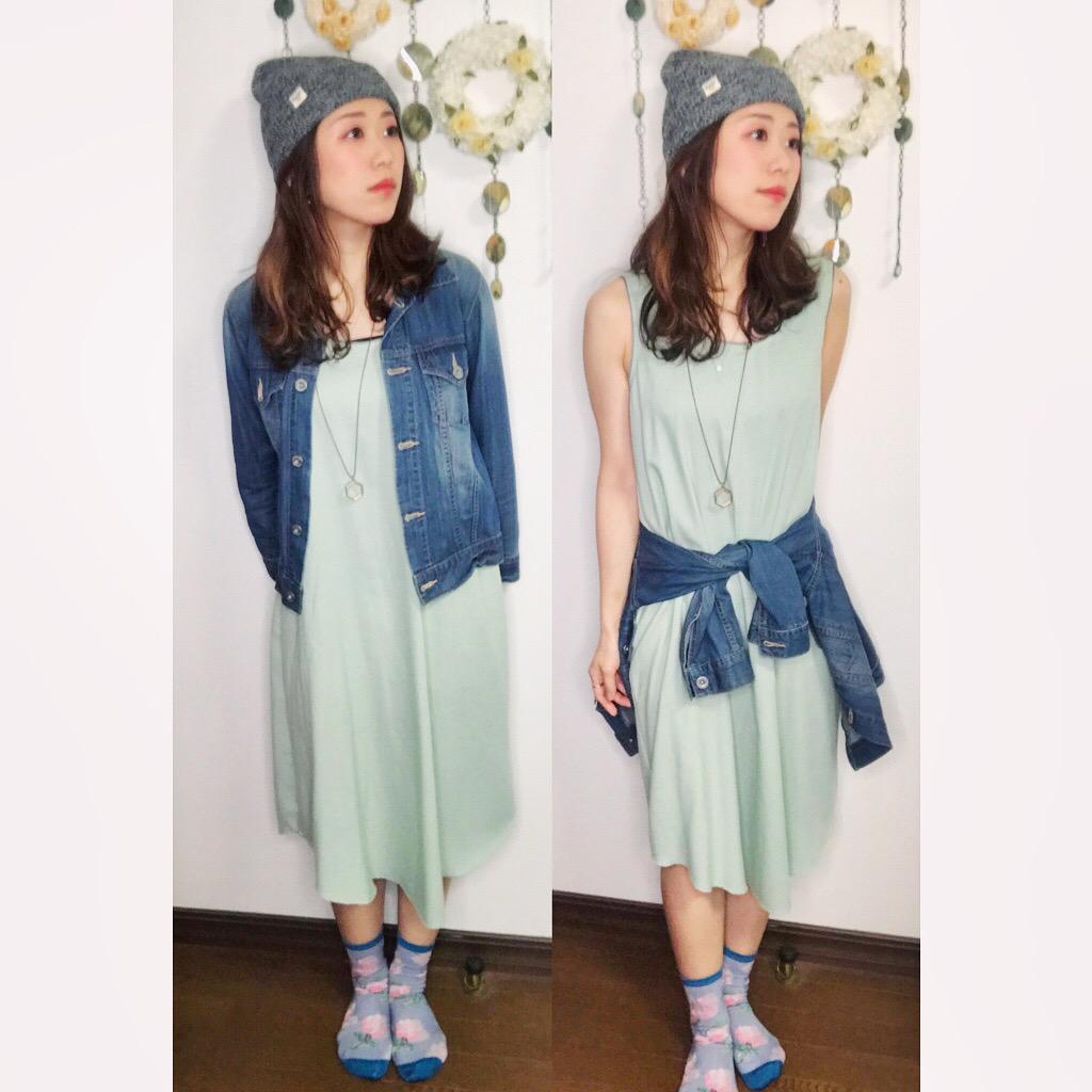 【オンナノコの休日ファッション】2020.5.17【うたうゆきこ】_1