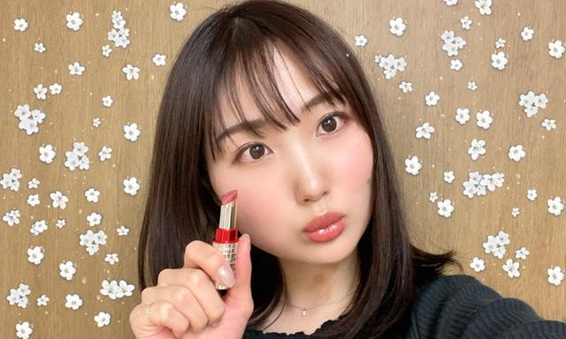 【新作コスメ】マキアージュ♡限定カラー♡発売したばかりのリップを紹介します!_4