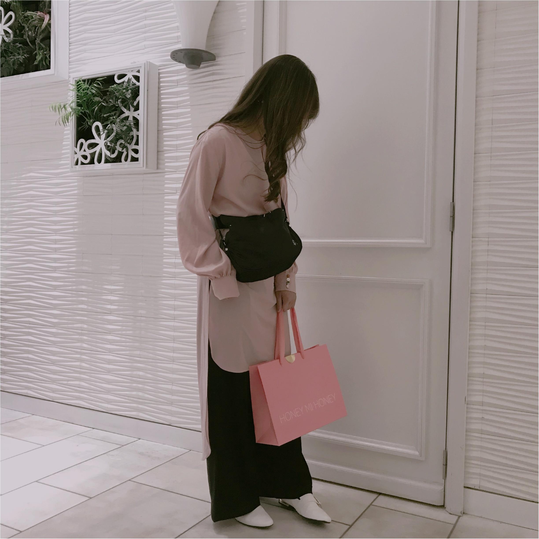 アウトレットでなんと5000円以上オフ❤︎agnes b.のバッグを購入しました!_2