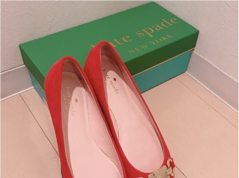 【fashion】Kate spadeのフラットシューズが可愛すぎる♥♥♥