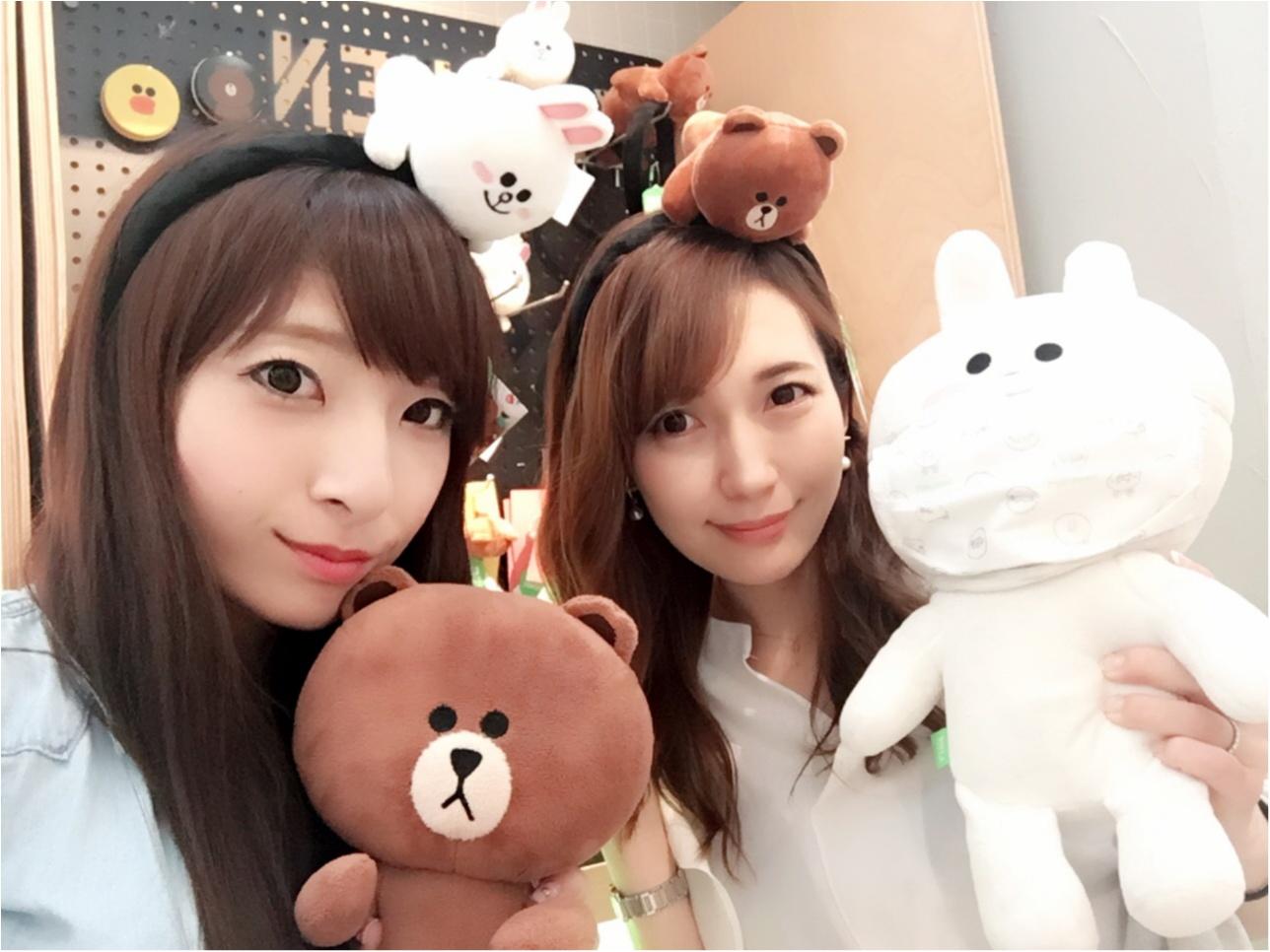 ♡大人気キャラクターショップ【LINE FRIENDS】行ってきたよ‼︎♡モアハピ◡̈のぞみ♡_6