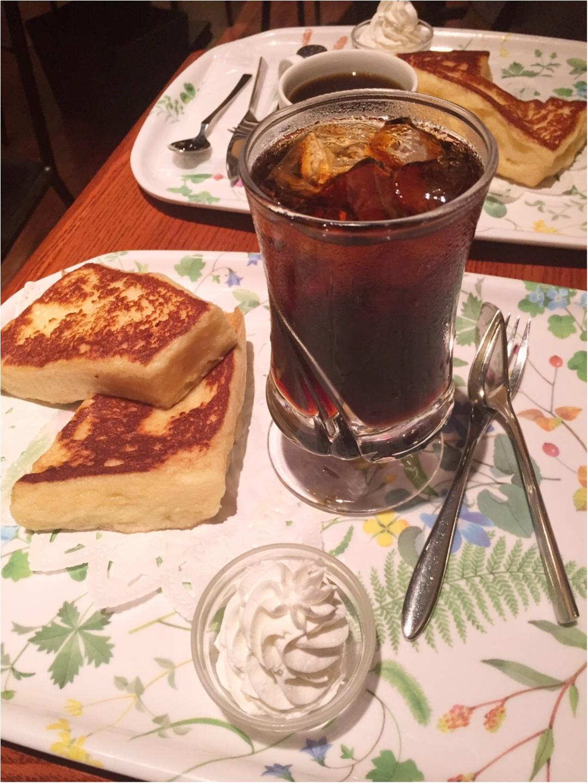 ぷるっふあ♡トロける【フレンチトースト】を新宿のカフェで体験しちゃお♩≪samenyan≫_4