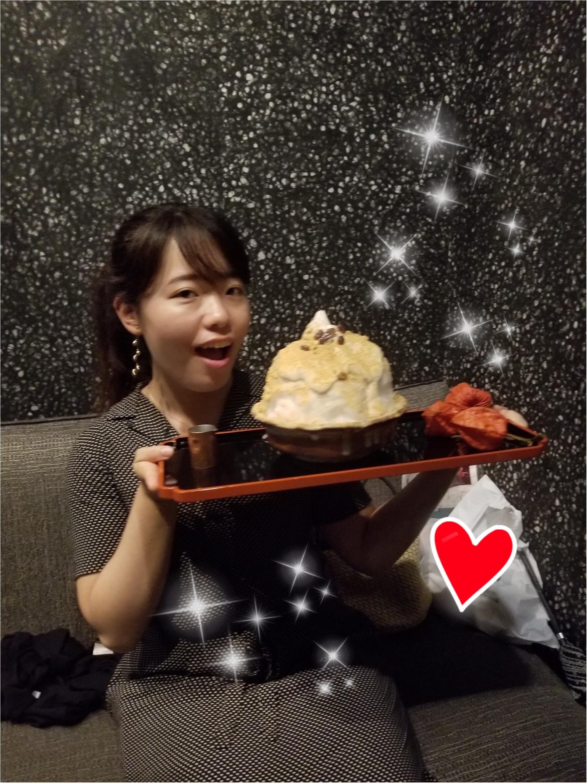 【至高の逸品!!】オトナの甘味を堪能する『黒蜜きな粉かき氷ソフト』♡♡@厨otonaくろぎ_2