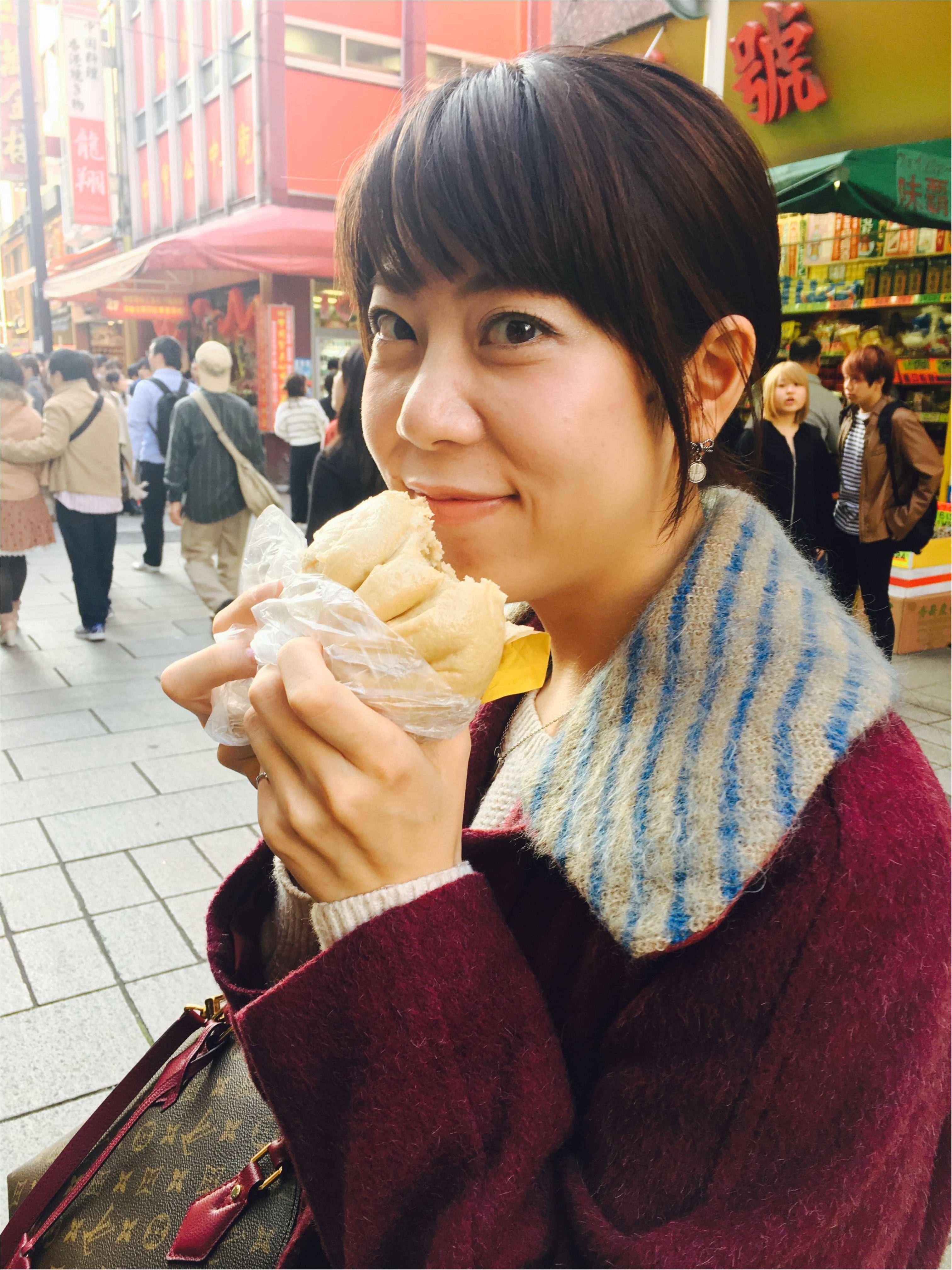 横浜中華街で食べ歩き!そしてやっぱり気になるよく当たる手相占い!_1