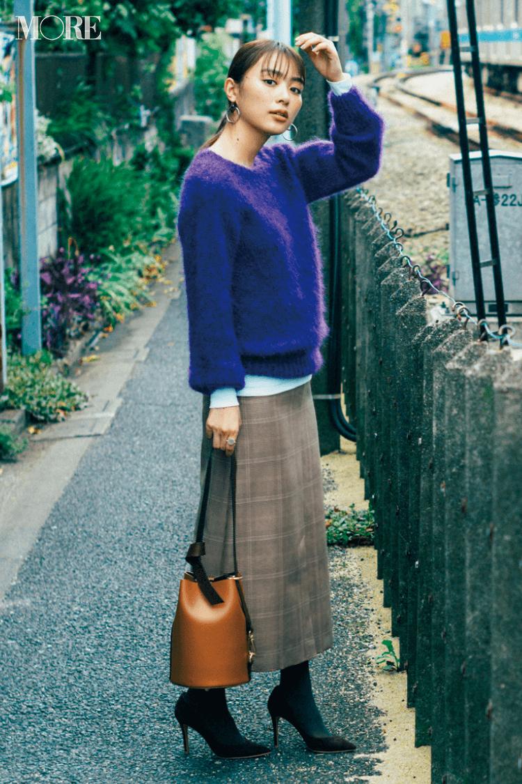 2018年秋のファッション ニット36