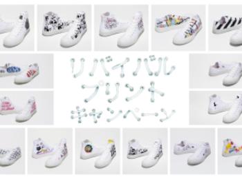『ホワイトアトリエ バイ コンバース』5周年記念! リバイバルプリントキャンペーンが7/17(金)からスタート☆