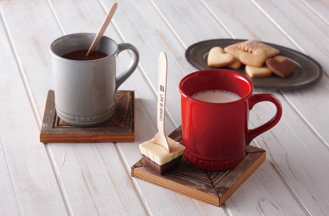 ホットミルクを注ぐだけ!『ル・クルーゼ』のギフトセットでチョコレートドリンク♡_1