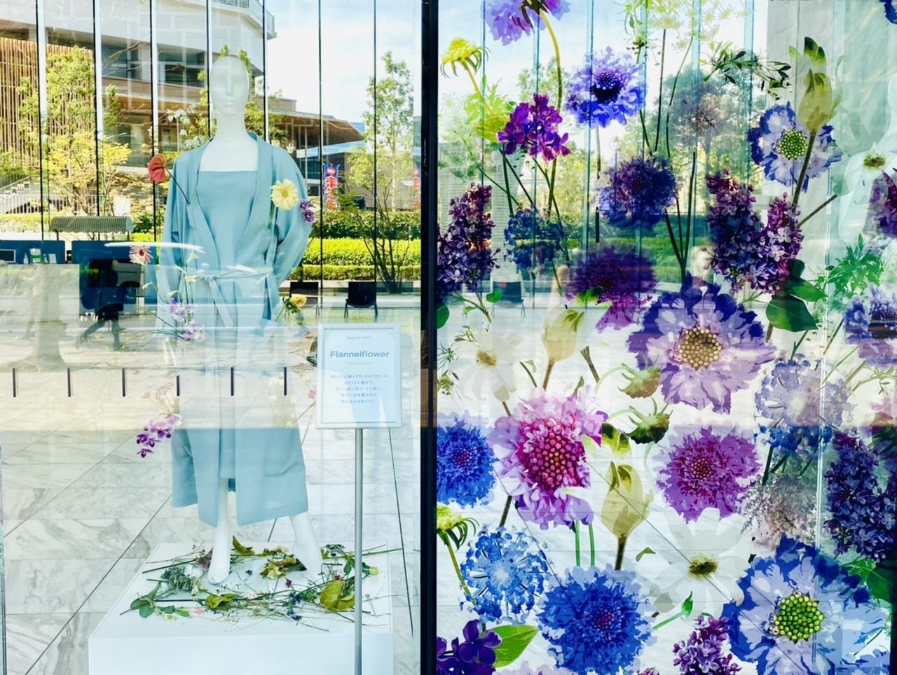 【ロスフラワーアート展】花のドレスが圧巻!春の花束フラワーショップもOPEN♡_6
