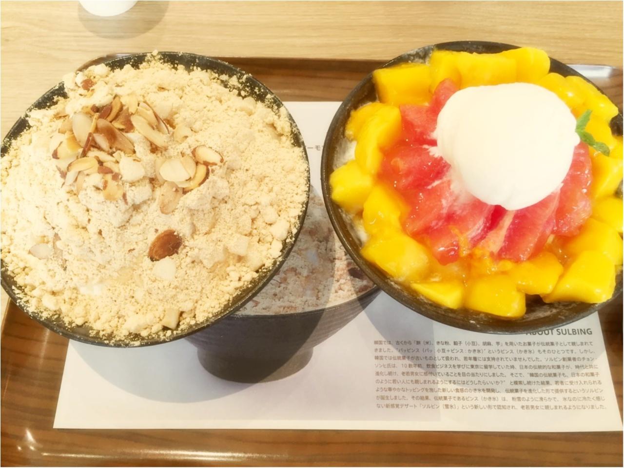 日本初上陸!韓国の人気かき氷店『ソルビン』が熱い!!!気になる待ち時間と人気メニューをチェック♡*_6