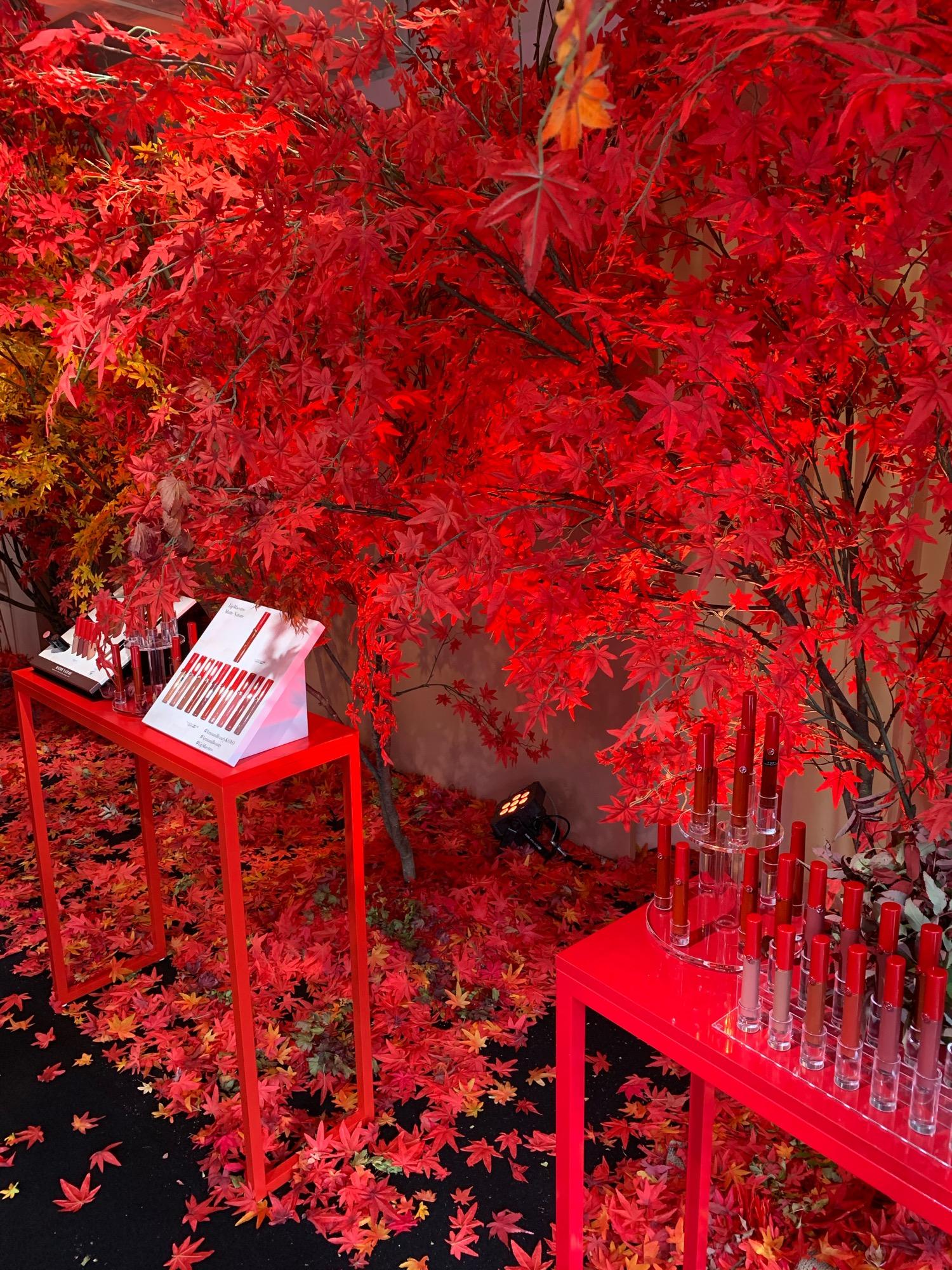 《豪華お土産付き❤️》【Armani Beauty KOYO】で秋メイクを体験してきました☻_2