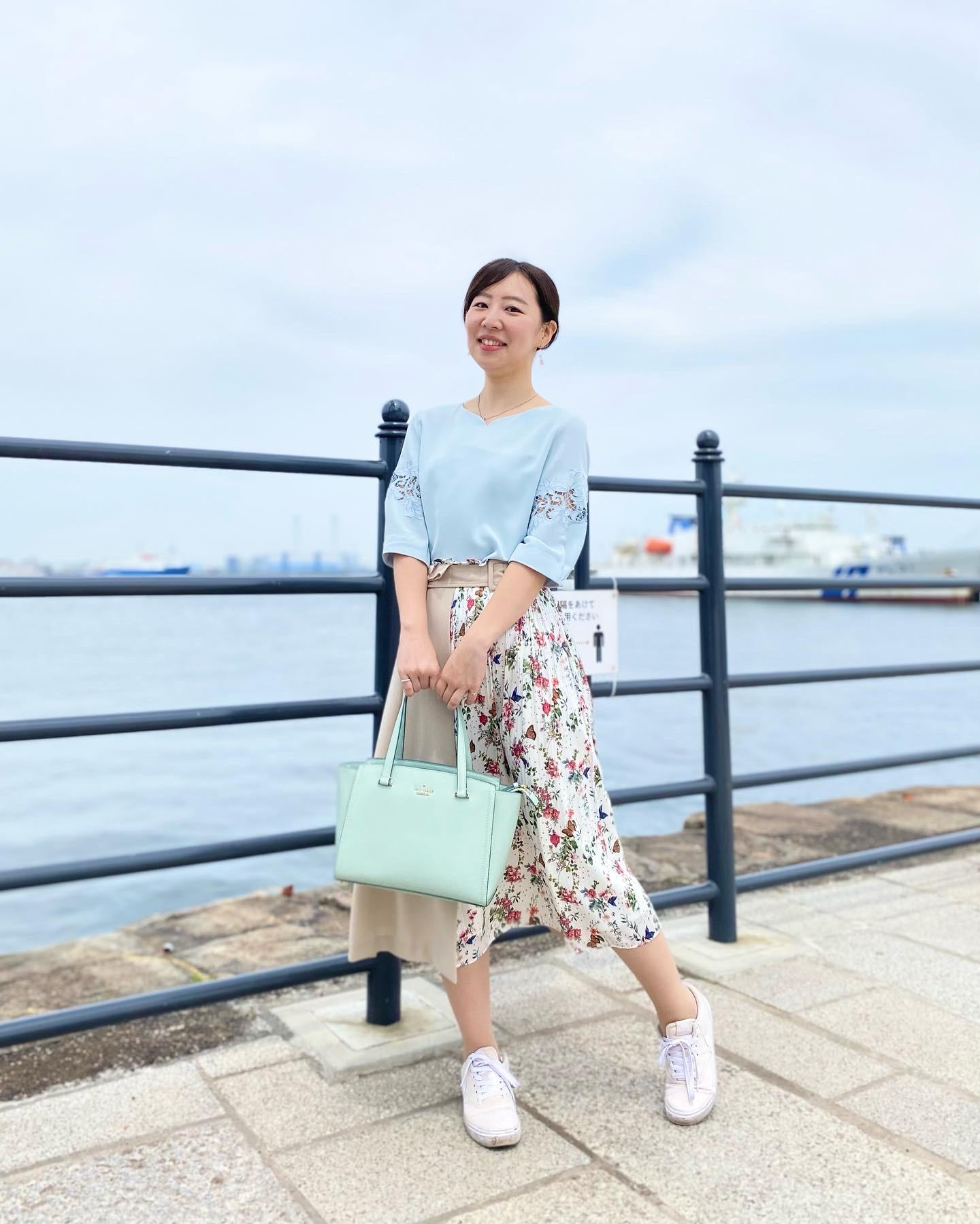 女子アナがよく着用しているTONALでお散歩コーデ_2