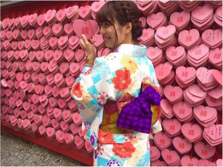 【TRIP】愛知県犬山市♡! #ハートの絵馬 が可愛いすぎ♡縁結び、恋愛成就の三光稲荷神社⋈_4