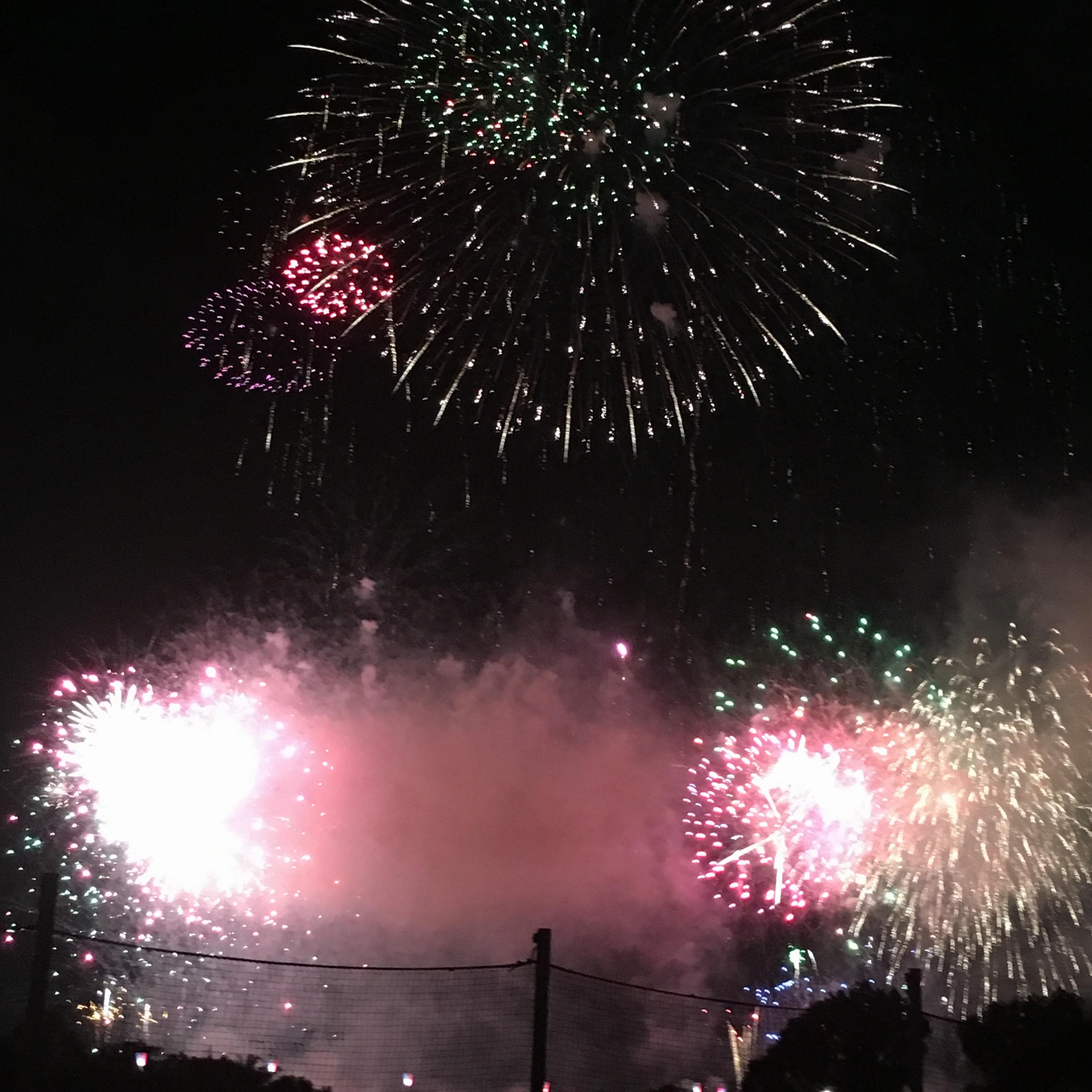今年初❤︎花火大会に行ってきた〜ヽ(。>▽<。)ノ♡♡迷った時の花火コーデも!♡_1