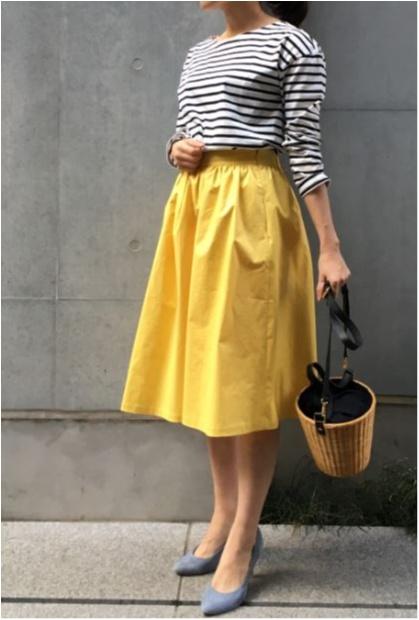 【読むと1000円お得になる!】オンオフ使える万能スカートの着こなし方!身長158cmスタッフOが実践しました_2