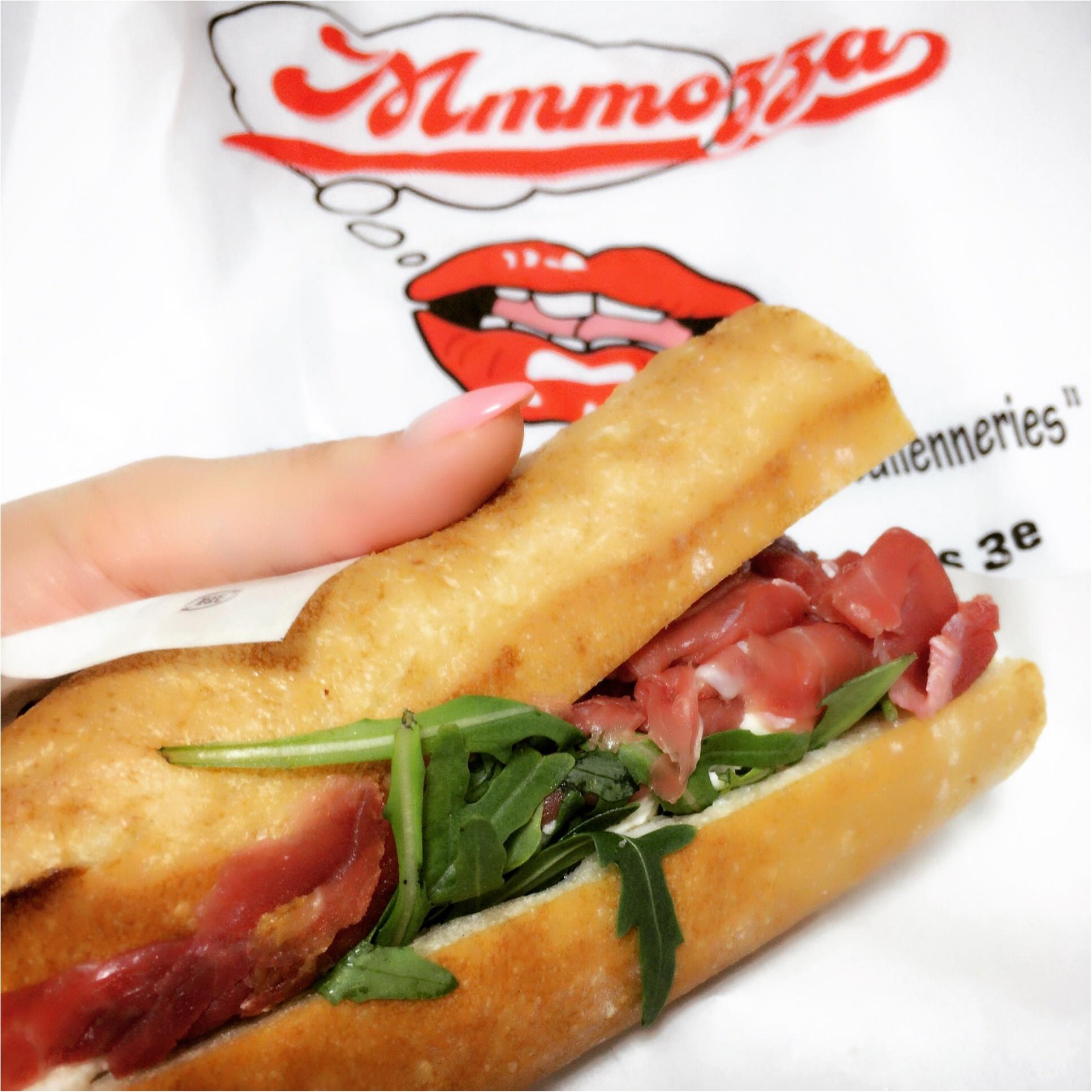 気分はパリジェンヌ♡Mmmozzaの絶品サンドイッチが日本初上陸!_2