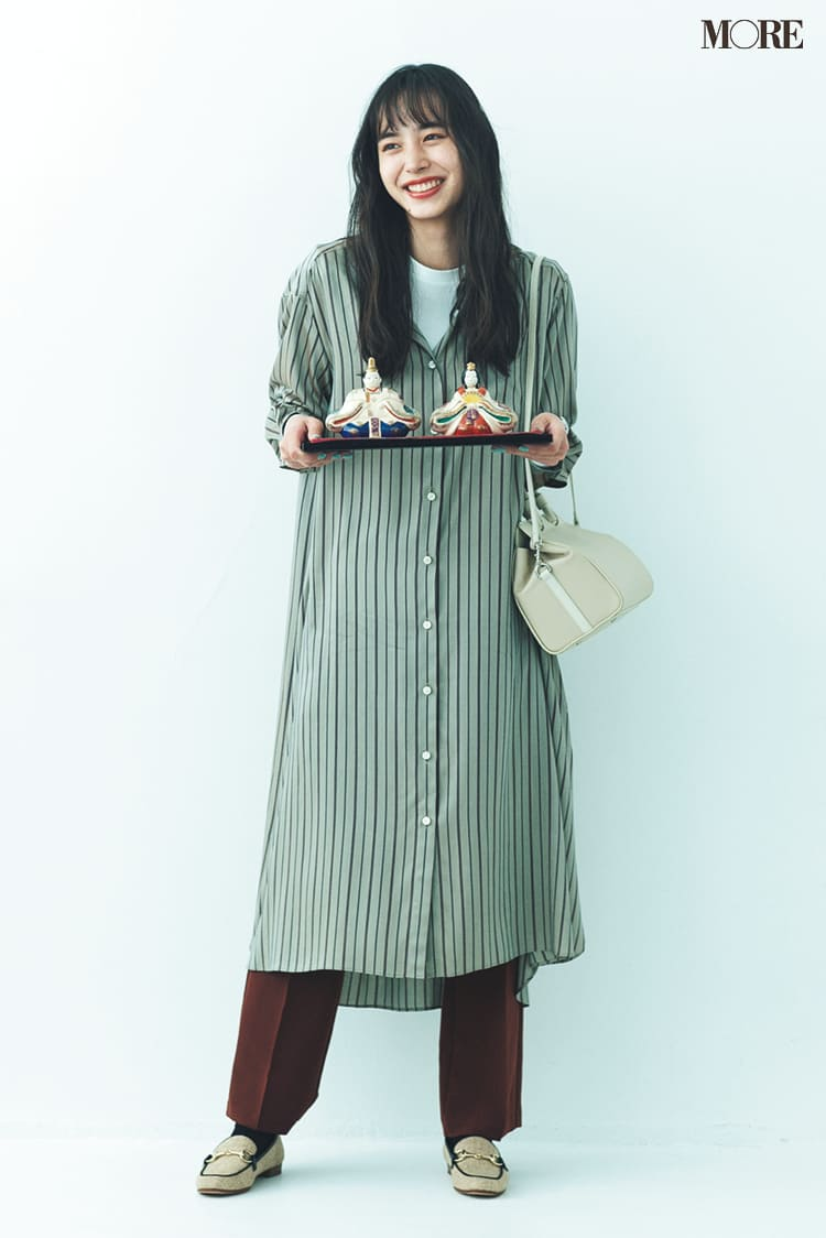 シャツワンピースの着こなし術【2020春】- 今年イチオシの色・形は? とびきり今っぽくておしゃれな最新ファッションまとめ_20