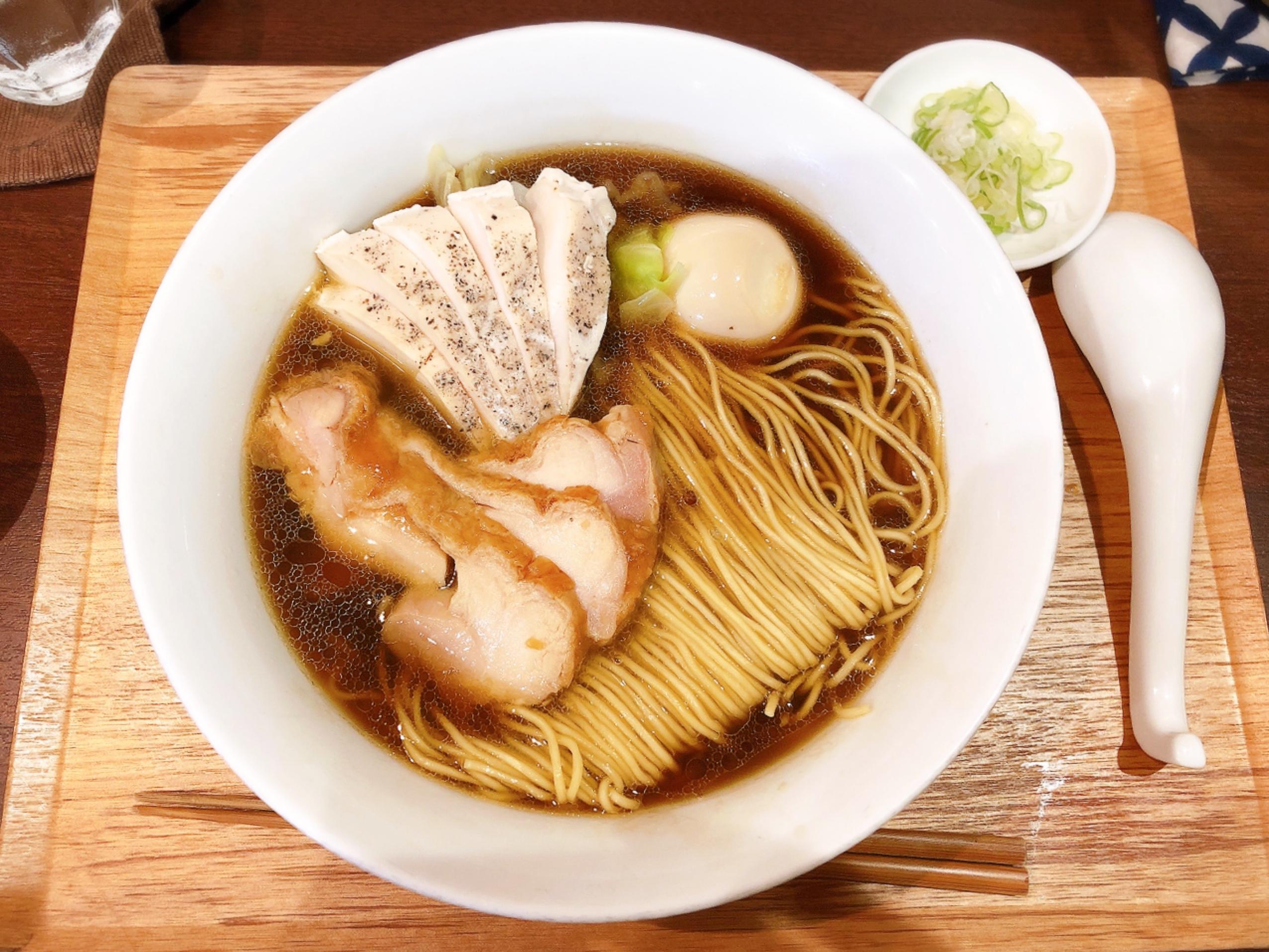 【#静岡】フレンチのシェフが作るフレンチチックなラーメンが絶品!上品でリッチなスープ♡ Le Dessin_3