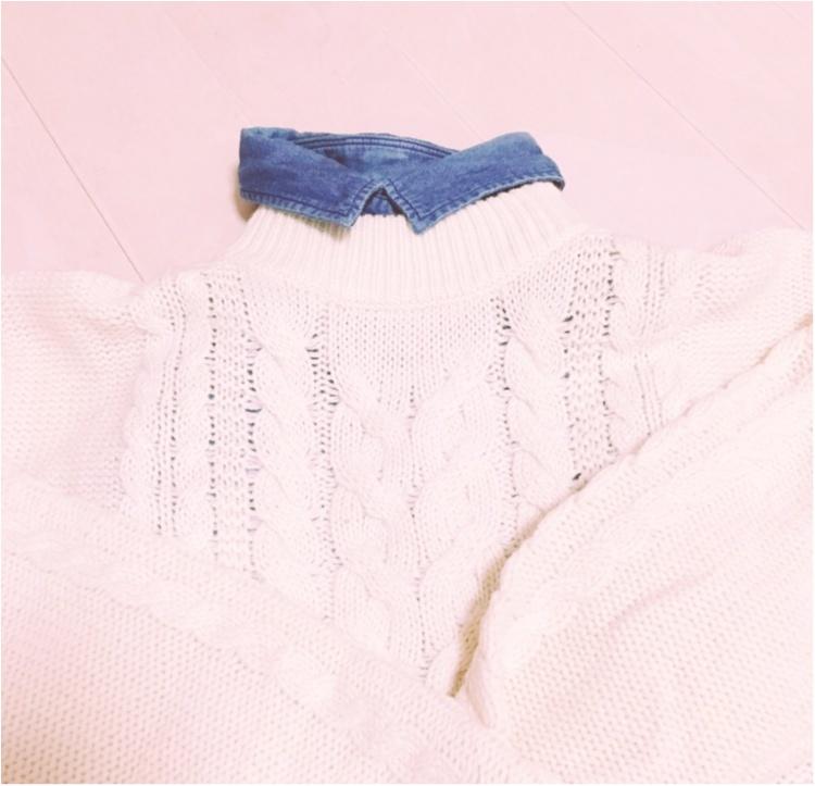 《プラスワンでもっと可愛く♡》この冬のマストバイ商品、UNIQLOのニットケーブルワンピース♡_4