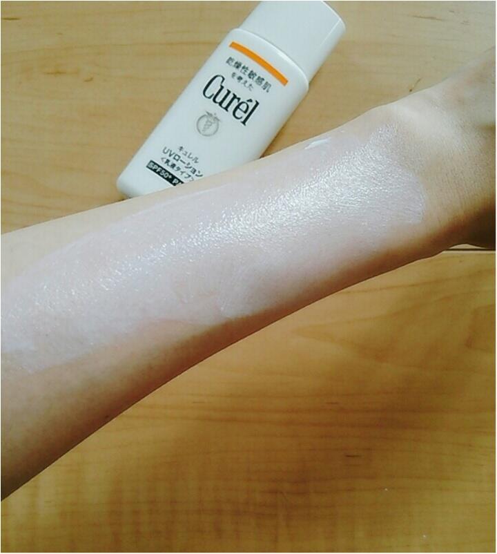 紫外線をカットして、肌ダメージも防ぐ!欲張りな私に【CurelのUVカットシリーズ】(443 まゆ_8