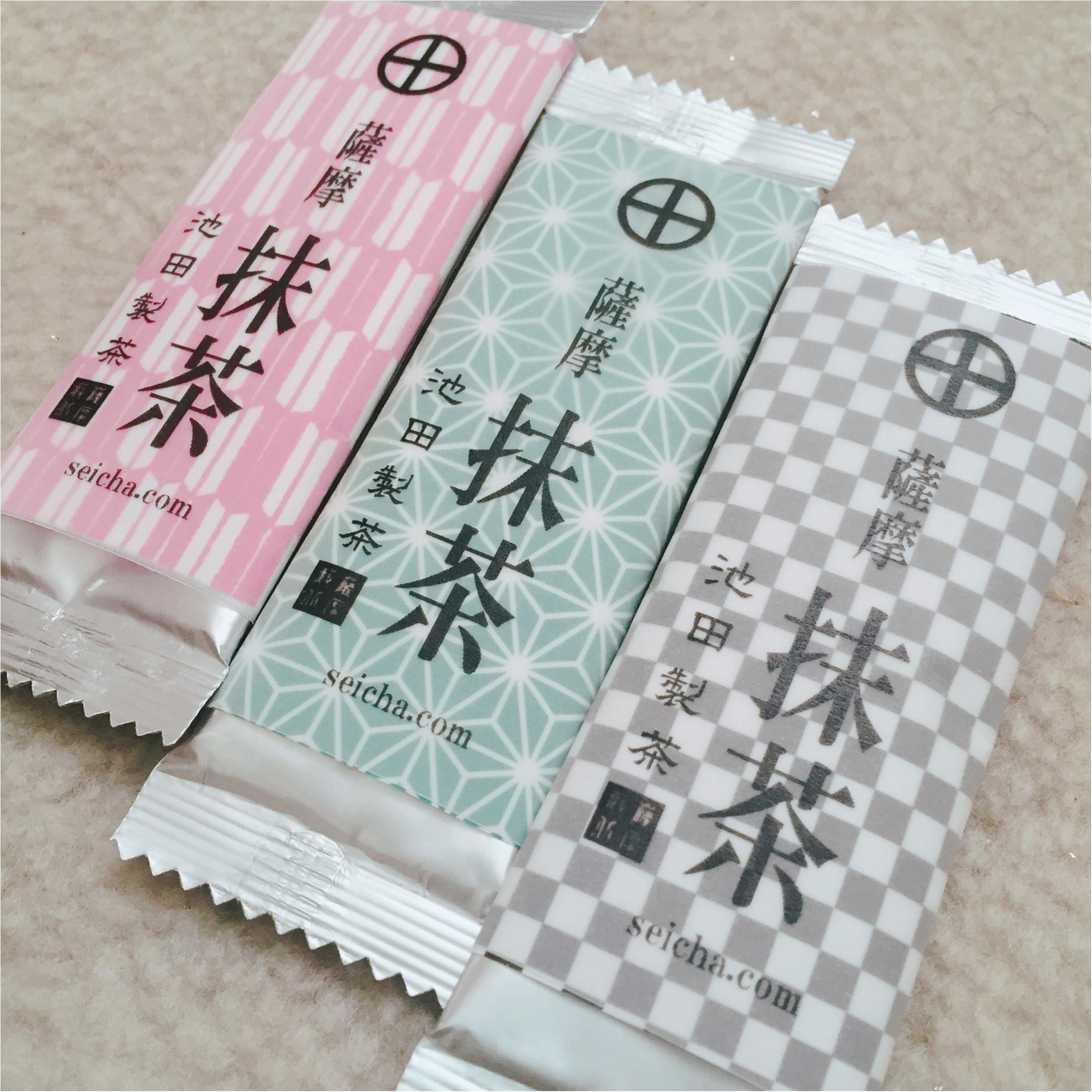 【お家でティータイム】お茶の産地「鹿児島」のお抹茶♡_4