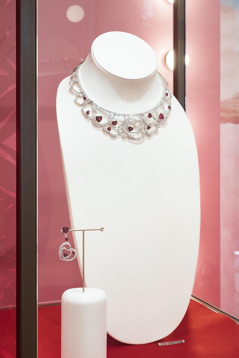 フレッド、プリティウーマンコレクションのネックレス
