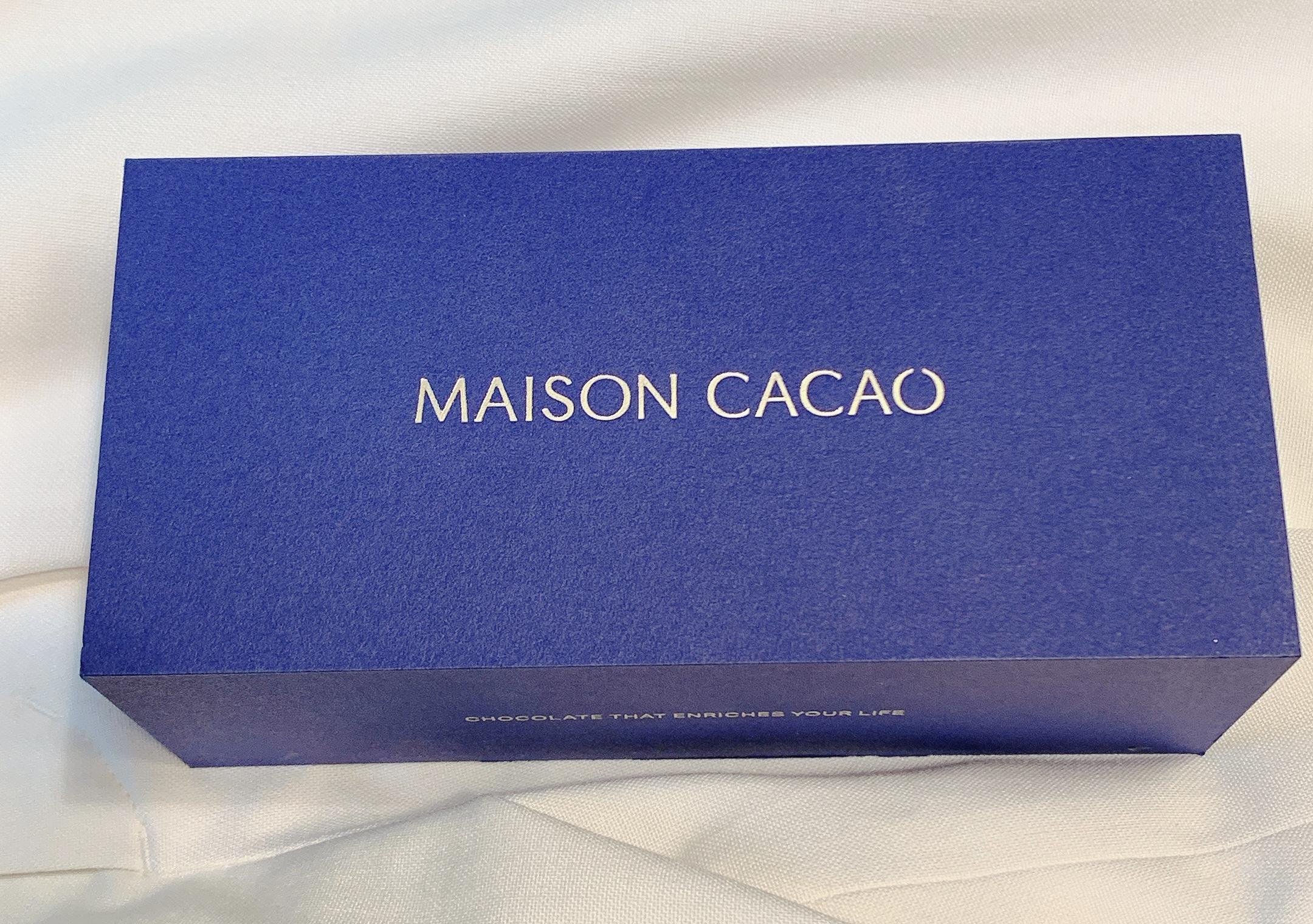 即位の礼のお手土産に選ばれた「MAISON CACAO」の生ガトーショコラが絶品過ぎる!?生チョコ風にフォンダンショコラ風でもいただける!最強スイーツ!バレンタインの催事で発見★おもたせ、手土産にも◎_1